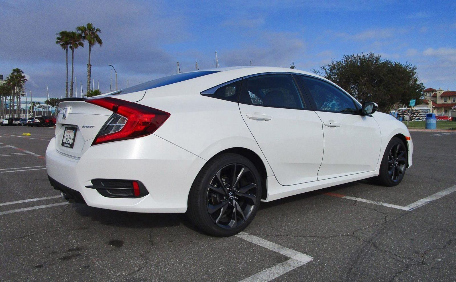 2019 Honda Civic Sport 2 0l 4 Door Manual Review By Ben Lewis Road Test Reviews Car Revs Daily Com