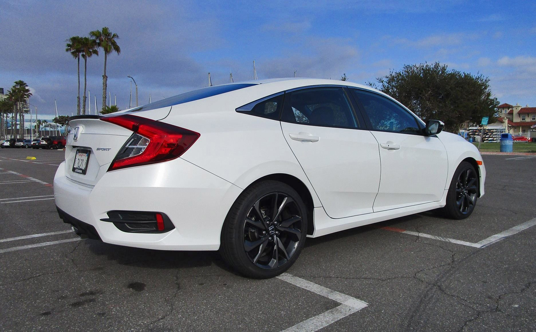 2019 Honda Civic Sport 2 0l 4 Door Manual Review By Ben Lewis Road Test Reviews Car Revs Daily Com