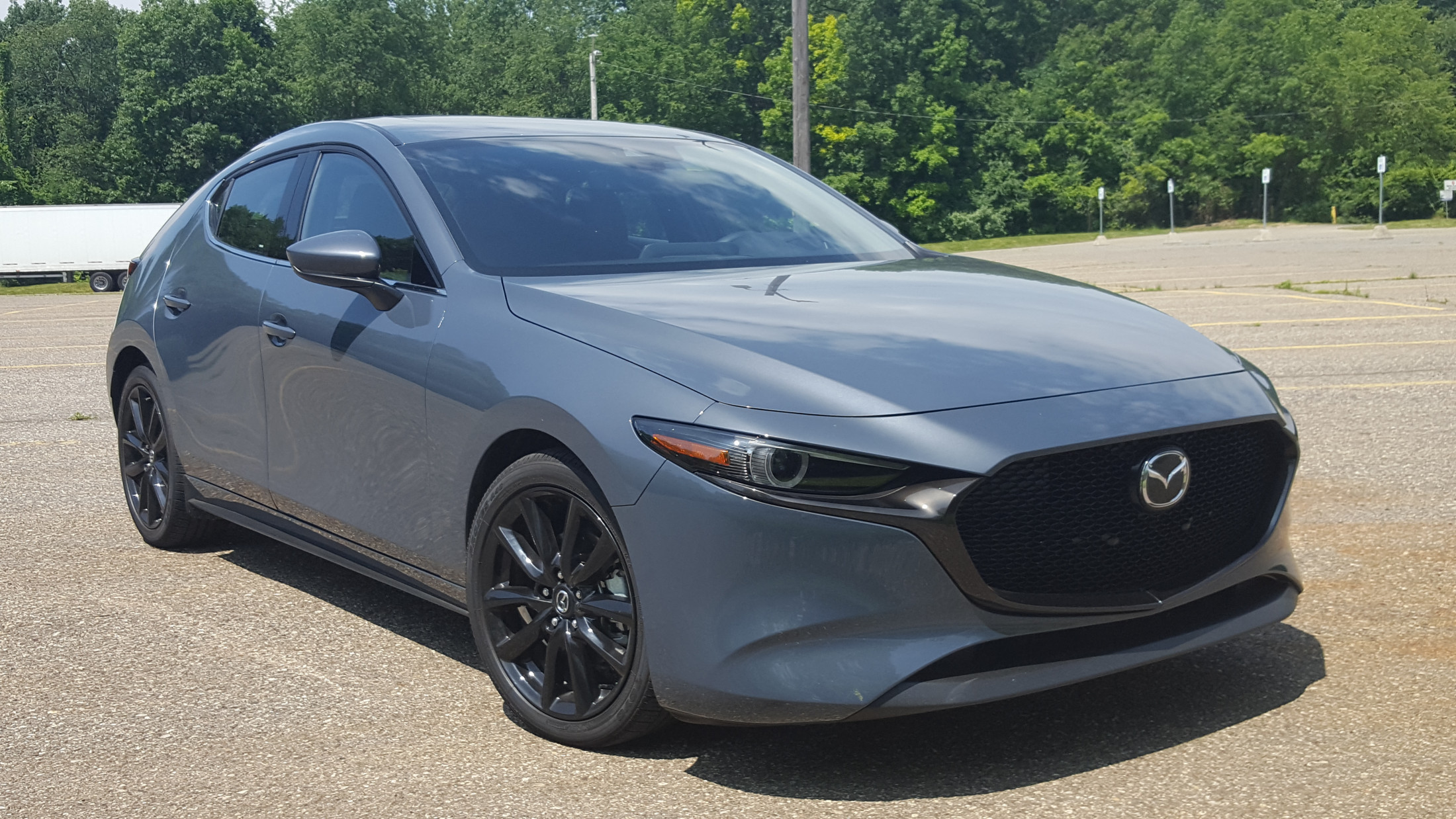road test review  2019 mazda3 hatchback awd carl