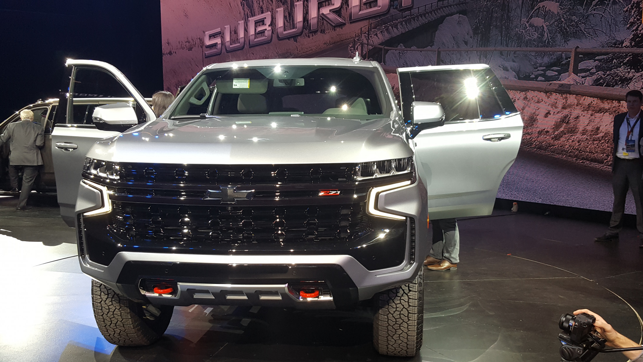 2021 Chevrolet Tahoe Z71 Busts The Trails Has Sequoia Trd Pro In Its Sights Off Road Car Revs Daily Com