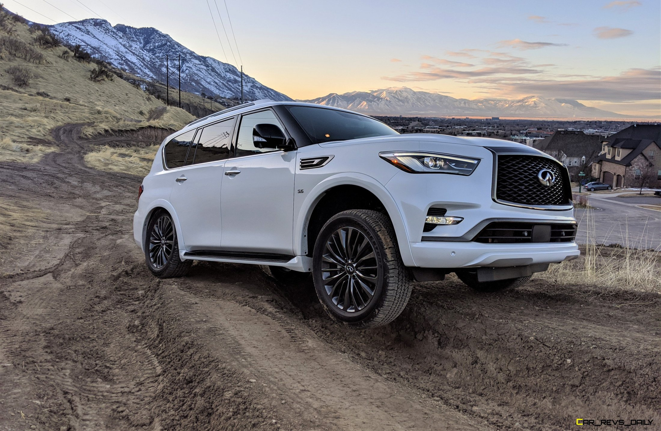 2020 Infiniti Qx80 Edition 30 Off Road Test Review By Matt Barnes Best Of 2020 Awards Car Revs Daily Com