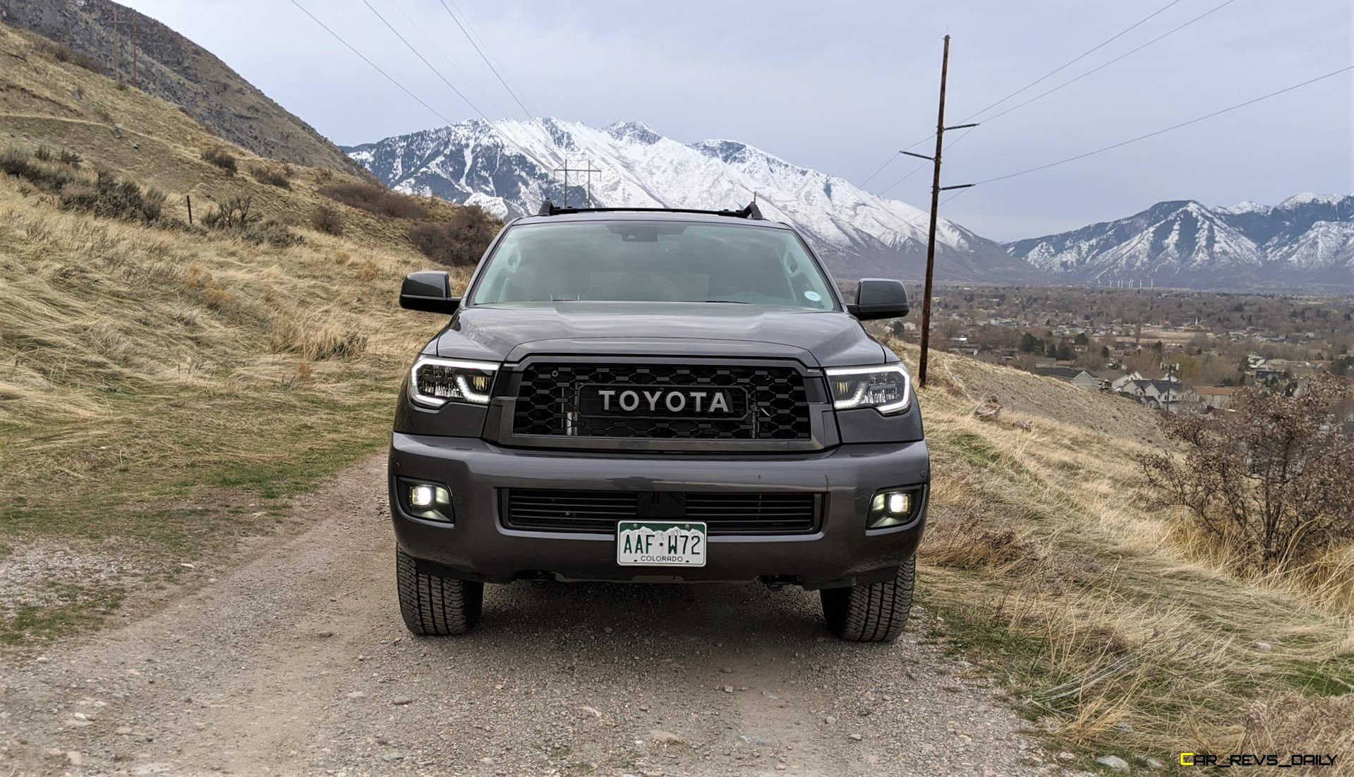 2020 Toyota Sequoia Trd Pro Off Road Review By Matt Barnes Latest News Car Revs Daily Com