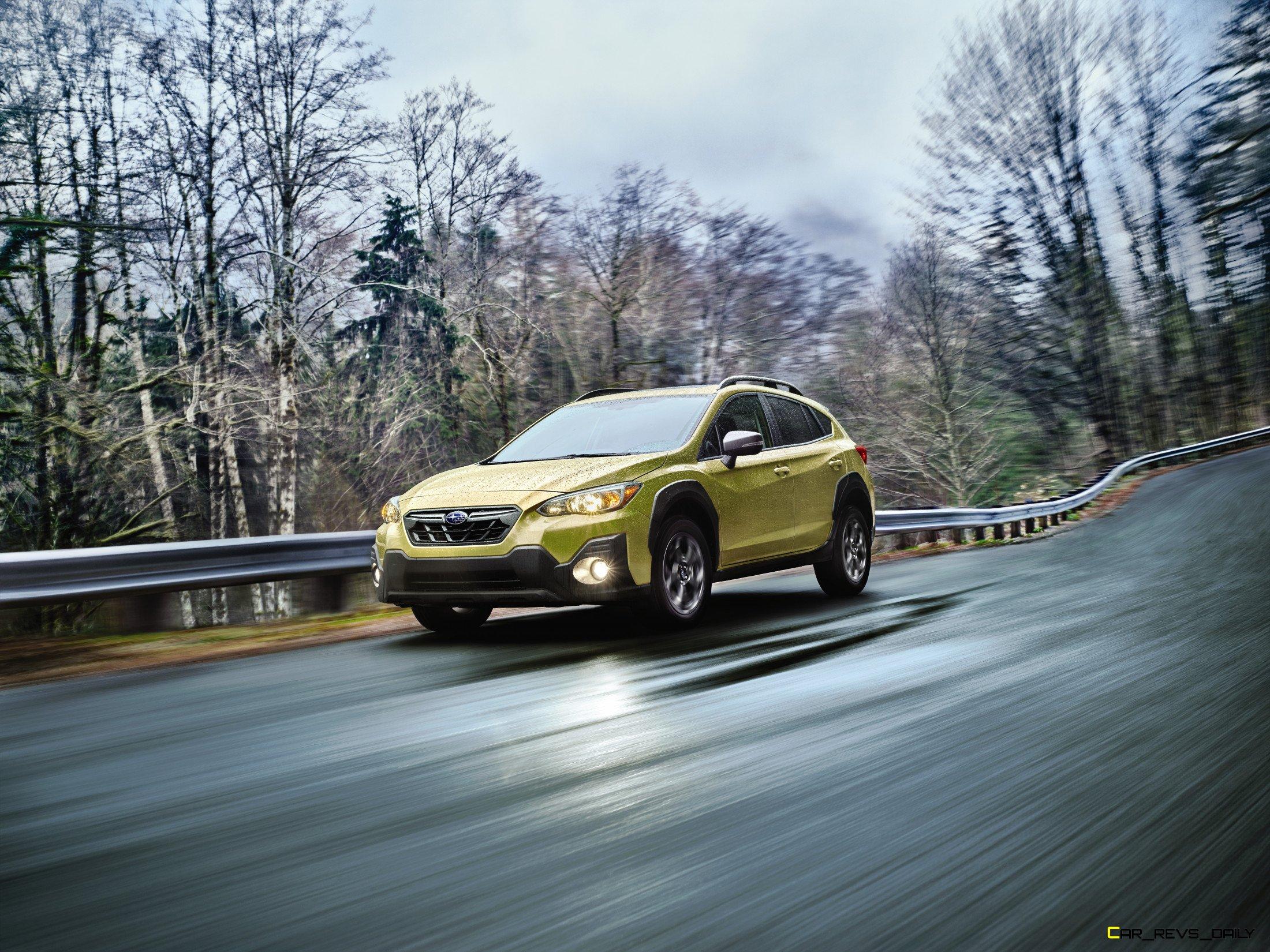 2021 Subaru Crosstrek Debuts, Sport Model Adds More Power ...