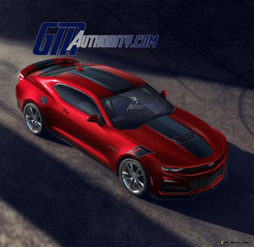 2021 Wild Cherry Red Camaro Image Surfaces Online » LATEST