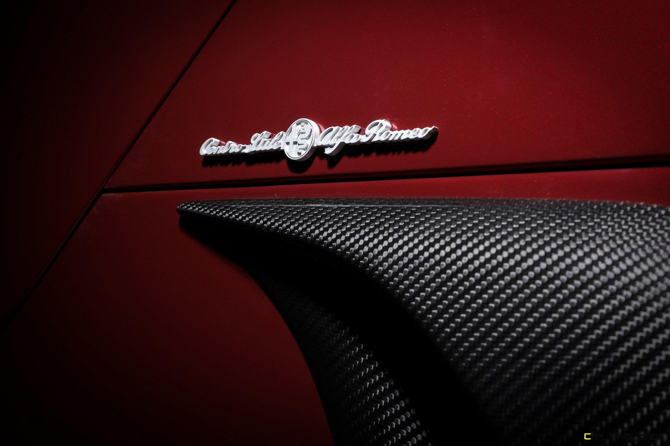2020 Alfa Romeo 33 Stradale Tributo vent closeup