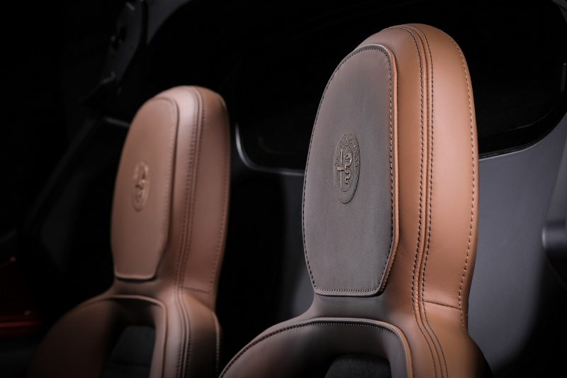 2020 Alfa Romeo 4C 33 Stradale Tributo headrests
