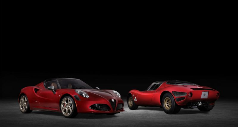 2020 Alfa Romeo 4C 33 Stradale Tributo