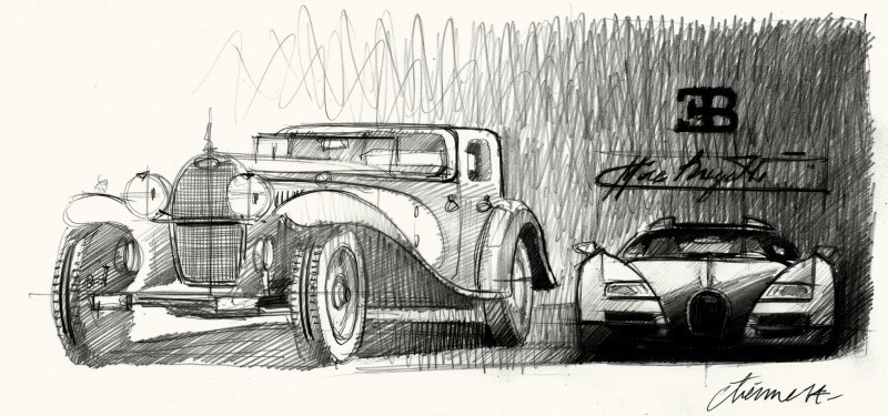 021_Design_Sketch_Type_41_and_Legend_Ettore_Bugatti