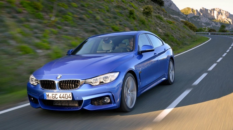 100 New Photos - 2015 BMW 428i and 435i Gran Coupe Are Segment-Busting AWD 4-Doors 12