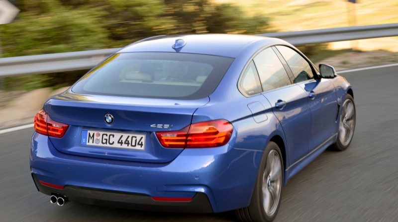 100 New Photos - 2015 BMW 428i and 435i Gran Coupe Are Segment-Busting AWD 4-Doors 13