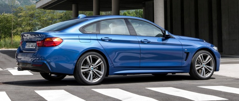 100 New Photos - 2015 BMW 428i and 435i Gran Coupe Are Segment-Busting AWD 4-Doors 60