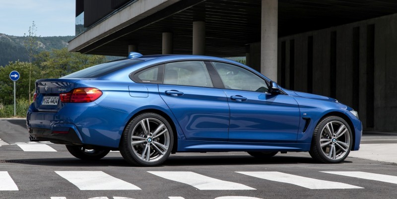 100 New Photos - 2015 BMW 428i and 435i Gran Coupe Are Segment-Busting AWD 4-Doors 62