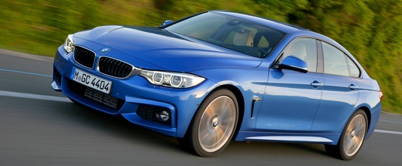 100 New Photos - 2015 BMW 428i and 435i Gran Coupe Are Segment-Busting AWD 4-Doors 7