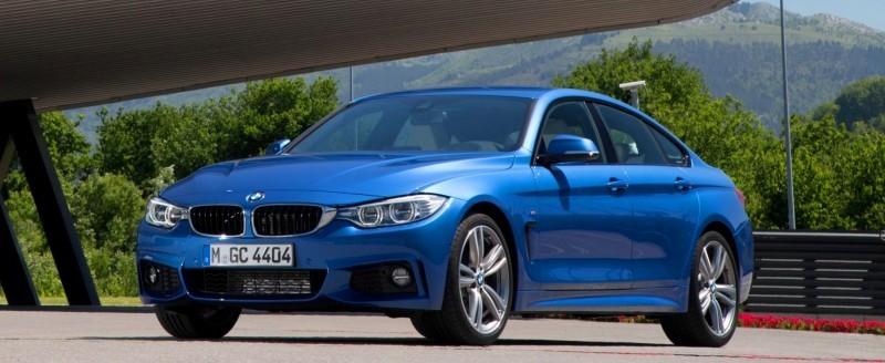 100 New Photos - 2015 BMW 428i and 435i Gran Coupe Are Segment-Busting AWD 4-Doors 71