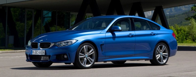 100 New Photos - 2015 BMW 428i and 435i Gran Coupe Are Segment-Busting AWD 4-Doors 72