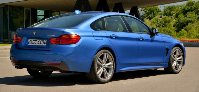 100 New Photos - 2015 BMW 428i and 435i Gran Coupe Are Segment-Busting AWD 4-Doors 76
