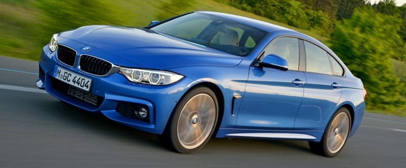 100 New Photos - 2015 BMW 428i and 435i Gran Coupe Are Segment-Busting AWD 4-Doors 9