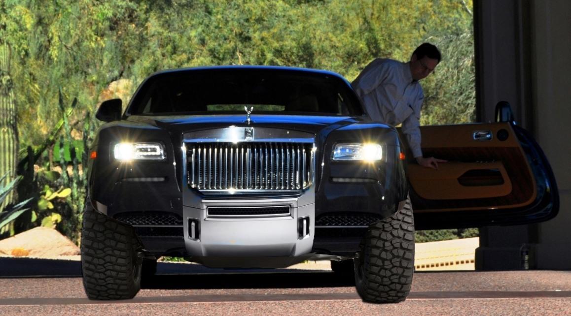 Rendered Mashup  GMC Denali Plus RollsRoyce Wraith