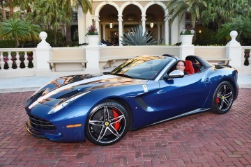 First 2016 Ferrari F60 America Delivered + F60 Speedster Renderings