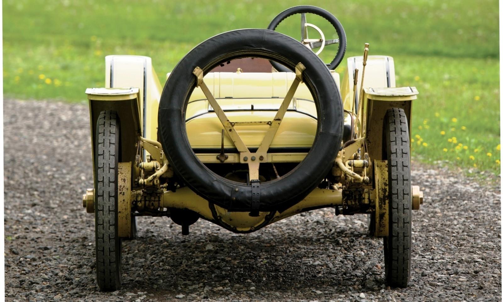1911 Mercer Type 35R Raceabout 8