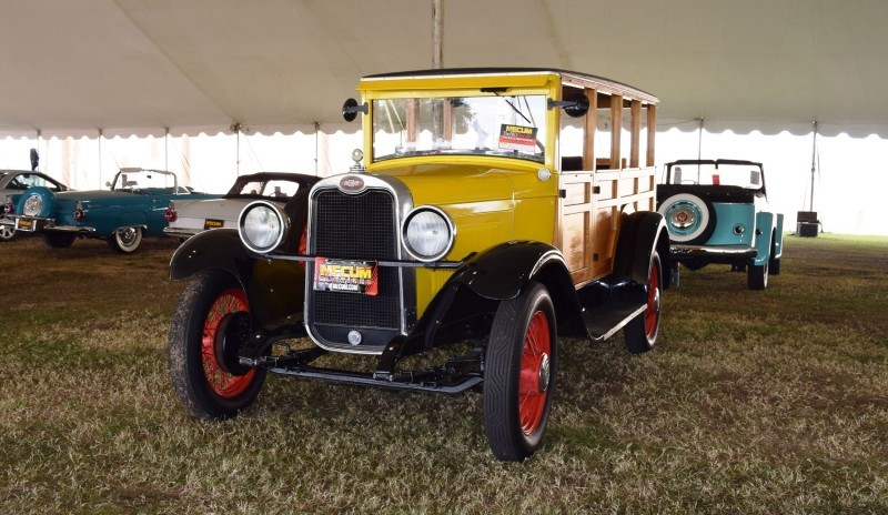 1928 Chevrolet 3-Speed Woody Wagon 1