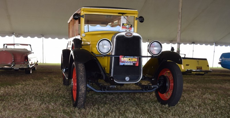 1928 Chevrolet 3-Speed Woody Wagon 13