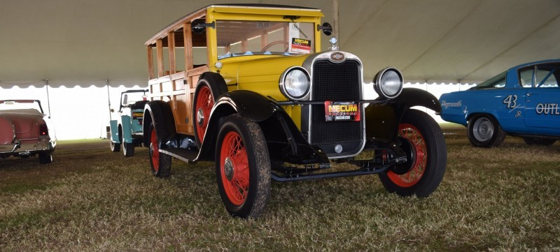 1928 Chevrolet 3-Speed Woody Wagon 14