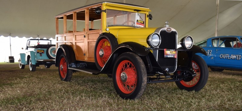 1928 Chevrolet 3-Speed Woody Wagon 15