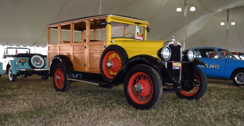 1928 Chevrolet 3-Speed Woody Wagon 16