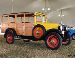 Mecum 2016 Faves – 1928 Chevrolet 3-Speed Woody Wagon – Original Suburban?