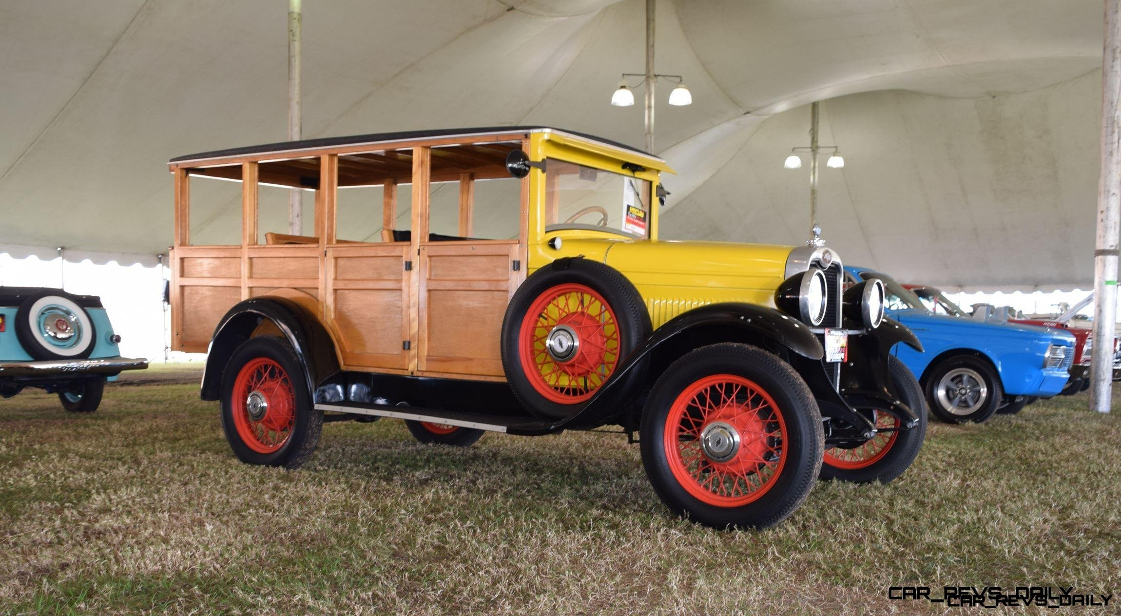 1928 Chevrolet 3-Speed Woody Wagon 17
