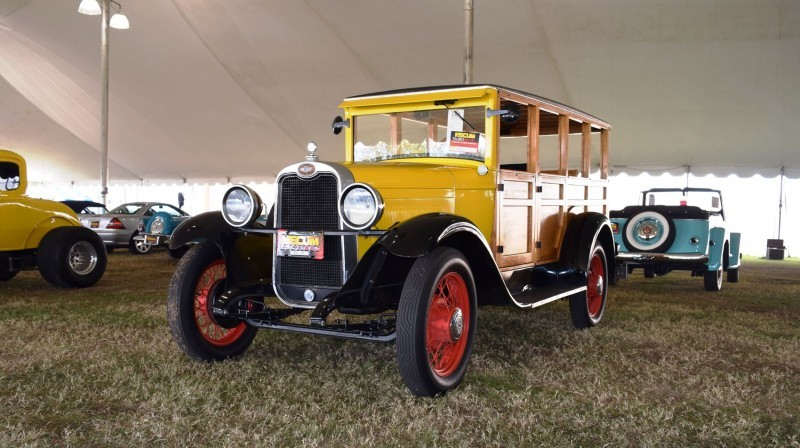 1928 Chevrolet 3-Speed Woody Wagon 2