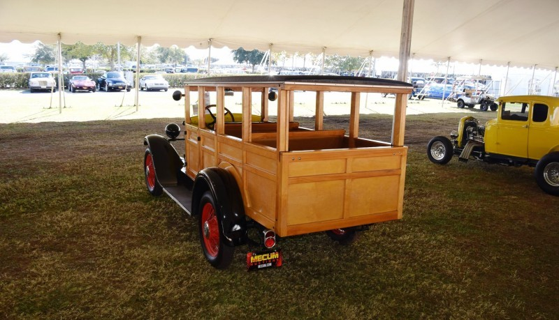 1928 Chevrolet 3-Speed Woody Wagon 21