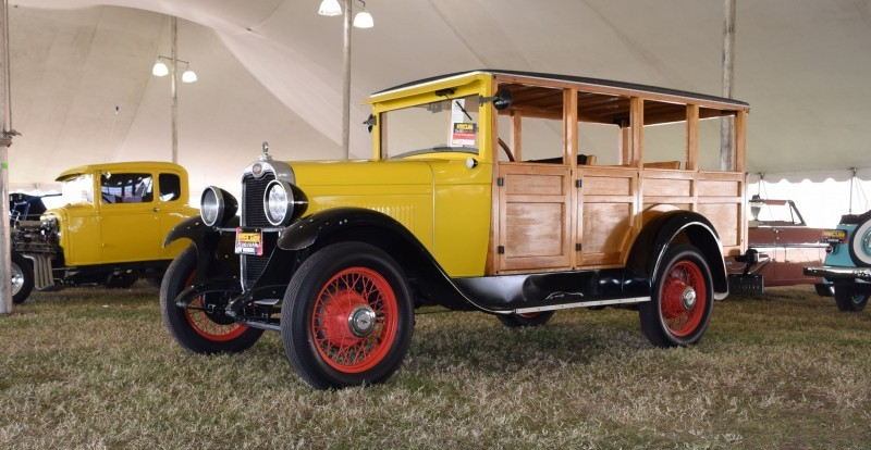 1928 Chevrolet 3-Speed Woody Wagon 4