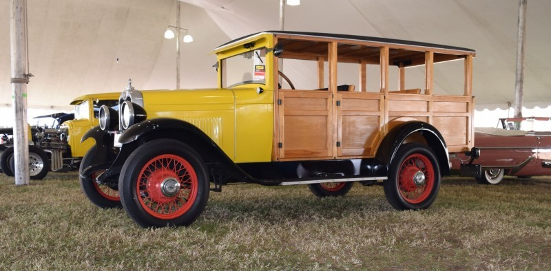 1928 Chevrolet 3-Speed Woody Wagon 5