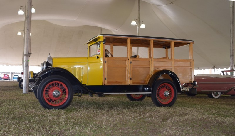 1928 Chevrolet 3-Speed Woody Wagon 6