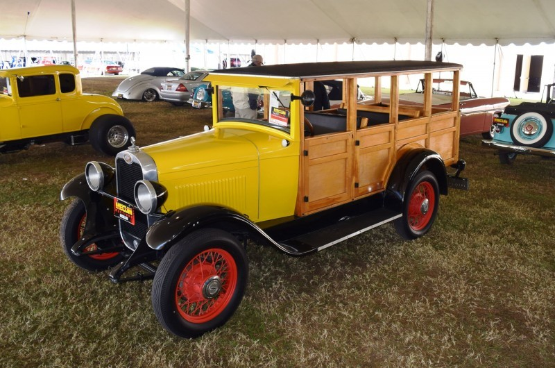 1928 Chevrolet 3-Speed Woody Wagon 7