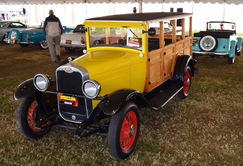 1928 Chevrolet 3-Speed Woody Wagon 8