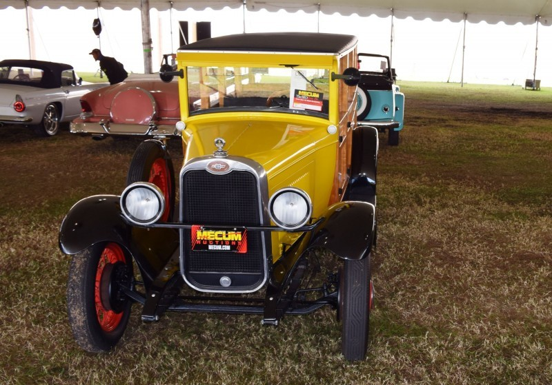 1928 Chevrolet 3-Speed Woody Wagon 9