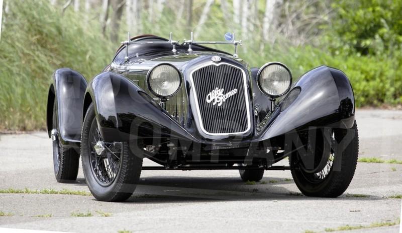 1929 Alfa Romeo 6C 1750 SS Spider 1