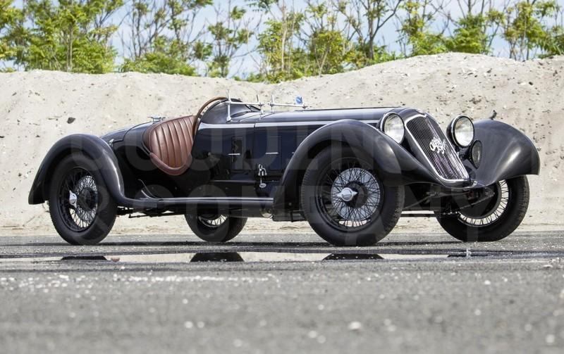 1929 Alfa Romeo 6C 1750 SS Spider 2