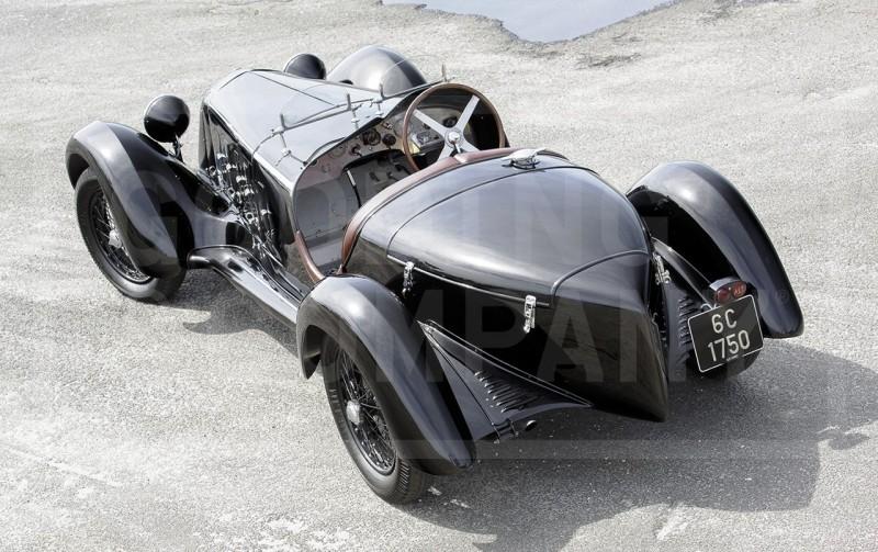 1929 Alfa Romeo 6C 1750 SS Spider 5