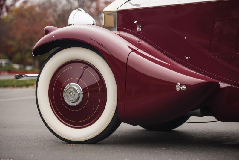 1930 Rolls-Royce Phantom II Torpedo Sports by Barker 12