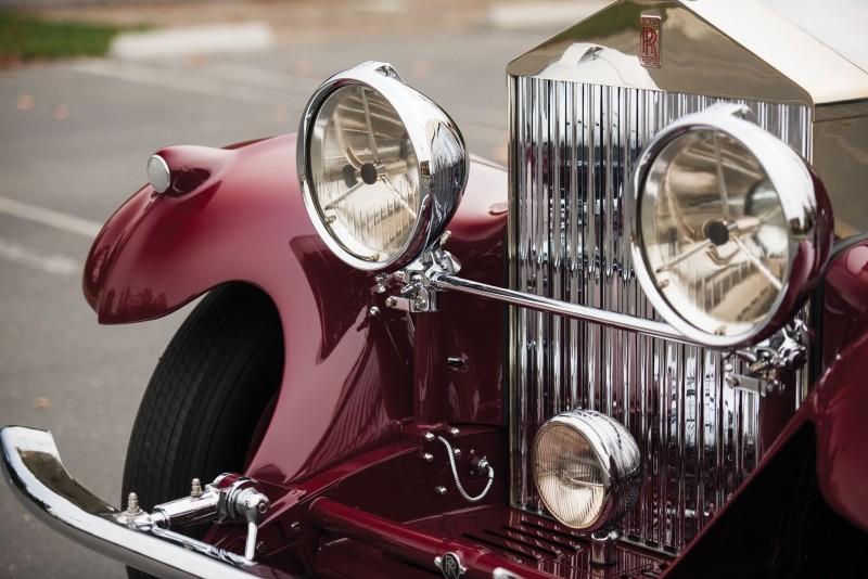 1930 Rolls-Royce Phantom II Torpedo Sports by Barker 13
