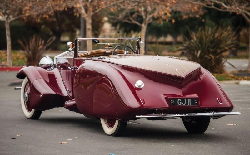 1930 Rolls-Royce Phantom II Torpedo Sports by Barker 2
