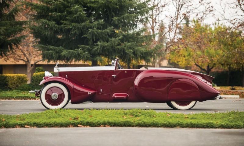 1930 Rolls-Royce Phantom II Torpedo Sports by Barker 5