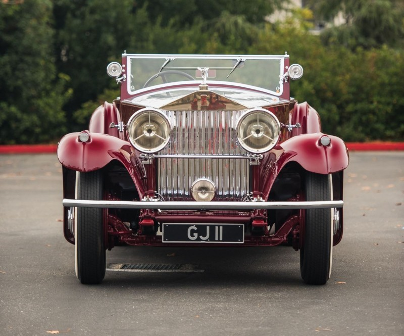 1930 Rolls-Royce Phantom II Torpedo Sports by Barker 6