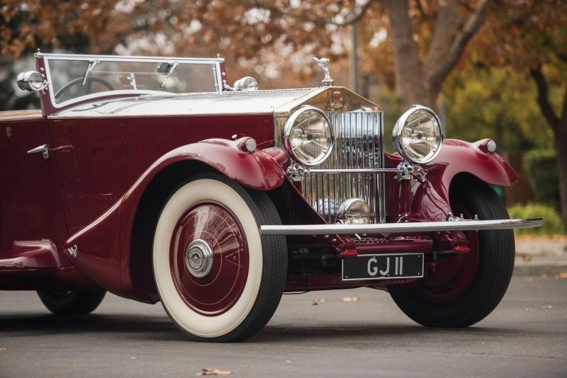 1930 Rolls-Royce Phantom II Torpedo Sports by Barker 8