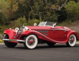 12-Million-Dollar Merc? 1937 540K Special Is Longtail, Highdoor Roadster with 7k Original Miles
