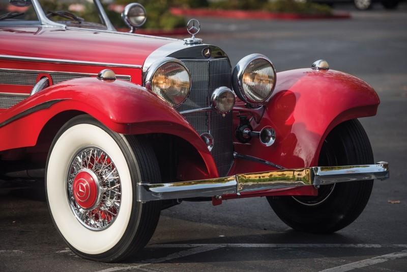 1937 Mercedes-Benz 540K Special 14